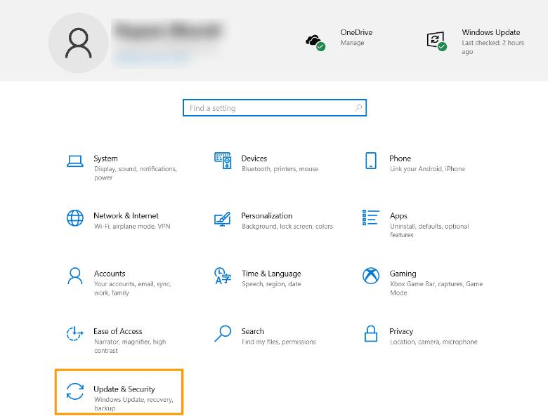 Windows-settings-panel