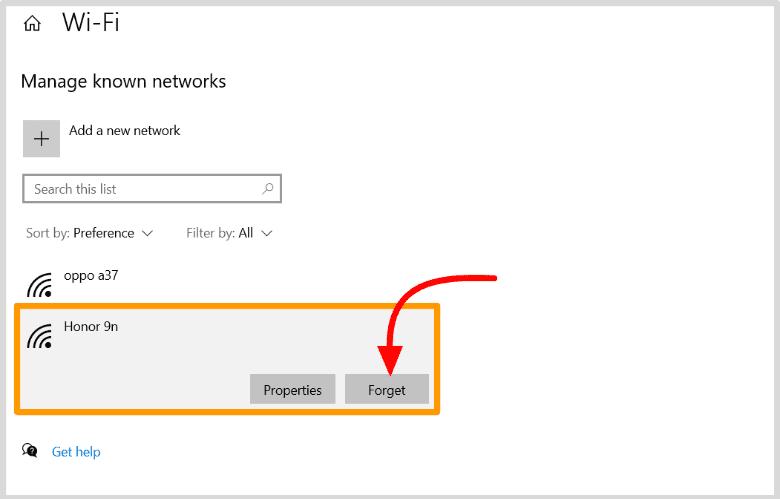 delete-wifi-profile-from-windows-10